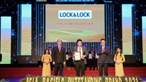 LOCK&LOCK được vinh danh Top 10 thương hiệu tiêu biểu Châu Á- Thái Bình Dương 2021
