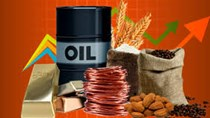 Hàng hóa TG phiên 17/2: Giá dầu tăng khá mạnh, vàng giảm