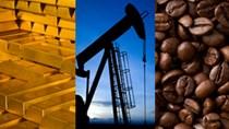 Hàng hóa TG sáng 24/8/2018: Giá dầu, vàng, cà phê robusta cùng giảm