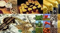 Hàng hóa TG sáng 6/7: Giá đồng loạt sụt giảm