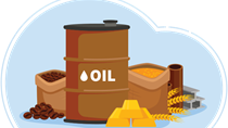 TT hàng hóa quốc tế phiên 3/9: Giá dầu, vàng và cà phê cùng giảm