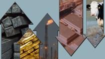 Hàng hóa TG sáng 23/3: Giá vàng cao nhất 3 tuần, cao su thấp nhất 4 tháng