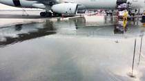 Sân bay quốc tế Kuala Lumpur đang chìm