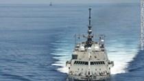 Cận cảnh tàu chiến Mỹ vào sát đảo Trung Quốc bồi đắp trái phép