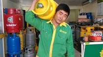Giá gas tăng 17.000 đồng/bình 12 kg