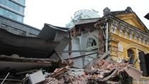 Toàn cảnh sự cố sập nhà số 107 Trần Hưng Đạo