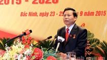 Ông Nguyễn Nhân Chiến tái đắc cử Bí thư tỉnh Bắc Ninh