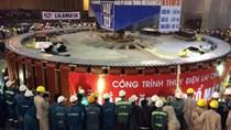 Lắp đặt thành công Roto tổ máy số 1 Thủy điện Lai Châu