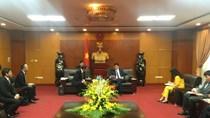 Bộ trưởng Trần Tuấn Anh tiếp xã giao Chủ tịch Mitsubishi Corporation