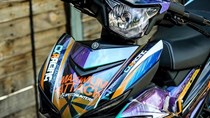 Exciter 150 màu độc của biker Tiền Giang