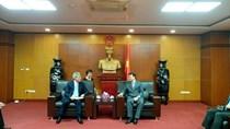 Thứ trưởng Đỗ Thắng Hải tiếp Phó Chủ tịch Tổ chức Xúc tiến Thương mại Nhật Bản
