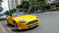 Aston Martin V8 Vantage Roadster biển Bình Thuận du hí Sài gòn