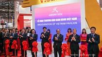Thủ tướng Nguyễn Xuân Phúc khai trương Khu gian hàng thương mại VN tại CAEXPO 2016