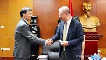 Thứ trưởng Đỗ Thắng Hải tiếp nguyên CEO Tập đoàn TAL Group - Hồng Kông