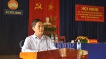 Bộ trưởng Bộ Công Thương Trần Tuấn Anh tiếp xúc cử tri tỉnh Quảng Ngãi