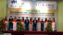 Khai mạc Triển lãm Quốc tế chuyên ngành Y Dược lần thứ 23 tại Hà Nội