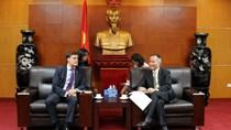 Thứ trưởng Trần Quốc Khánh tiếp Thứ trưởng Ngoại giao Venezuela