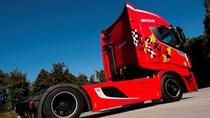 Xe tải dàn áo Ferrari giá 2,6 tỷ