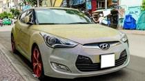 Hyundai Veloster đính hàng nghìn viên pha lê ở Sài Gòn