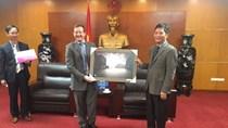 Bộ trưởng tiếp Đại sứ Cộng hòa Pháp tại Việt Nam
