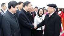 TBT Nguyễn Phú Trọng kết thúc tốt đẹp chuyến thăm chính thức nước CHND Trung Hoa