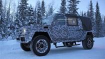 Mercedes-Benz sắp trình làng G65 AMG phiên bản mui trần