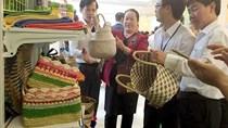Triển lãm các sản phẩm nông nghiệp phục vụ Hội nghị xúc tiến đầu tư