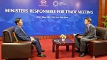 Bộ trưởng Trần Tuấn Anh trả lời phỏng vấn Ban Thư ký APEC Quốc tế
