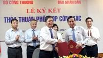 Bộ Công Thương và Báo Nhân Dân ký kết Thỏa thuận phối hợp truyền thông