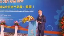 Hàng trăm doanh nghiệp tham gia Triển lãm sản phẩm Cơ khí - Điện tử 2017