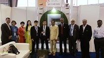 Đoàn Bộ Công Thương làm việc và tham dự Hội chợ Dệt may Quốc tế Textiles India 2017
