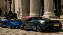 """Lần đầu bắt gặp cặp đôi siêu xe """"hàng nóng"""" của McLaren khoe dáng trên phố"""