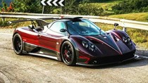 """Siêu xe Pagani Zonda phiên bản """"bóng ma"""" được nâng cấp ấn tượng"""
