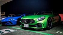 Vẻ đẹp siêu xe Mercedes-AMG GT R màu xanh lục tại thị trường Nhật Bản