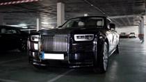 Bắt gặp xe siêu sang Rolls-Royce Phantom 2018 đầu tiên lăn bánh trên thế giới