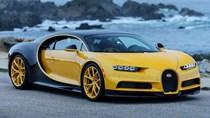 """Siêu xe Bugatti Chiron đến Mỹ với giá 3 triệu USD và cản va sau """"không giống ai"""""""