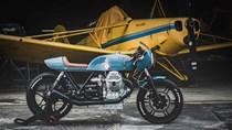 Moto Guzzi Lemans độ theo phong cách máy bay cổ điển