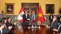 Thứ trưởng Đỗ Thắng Hải tham dự Kỳ họp lần thứ nhất Ủy ban liên CP Việt Nam – Peru