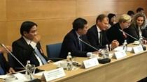 Thứ trưởng Hoàng Quốc Vượng tham dự tọa đàm với các doanh nghiệp tại Cộng hòa Lít–va