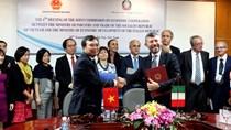 Khoá họp lần thứ IV UBHH về hợp tác kinh tế giữa BCT Việt Nam và Bộ PTKT Italia