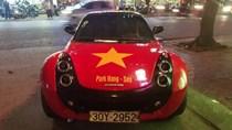 Ô tô khắp Việt Nam dán decal cầu mong U23 vô địch châu Á