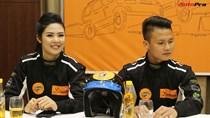 Vì sao tiền vệ U23 Quang Hải và Hoa hậu Ngọc Hân tham gia giải đua xe địa hình VN?