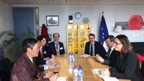 Bộ trưởng BCT làm việc với Cao ủy TM EU về Hiệp định TM Tự do Việt Nam – EU