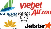 Hãng hàng không Việt nào đúng giờ nhất tháng qua?