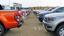 Giá tính lệ phí trước bạ ô tô nhập khẩu: Cao nhất 66,182 tỷ đồng