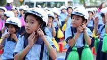 Kế hoạch của UBND về việc tặng mũ bảo hiểm cho học sinh lớp 1 ở Hà Nội