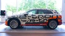 Chi tiết mẫu xe điện hoàn toàn đầu tiên của Audi tại Hà Nội