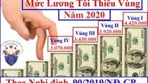 Nguyên tắc xây dựng thang bảng lương của người lao động năm 2020