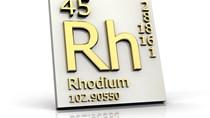 Rhodium – Kim loại quý hiếm và giá trị nhất hành tinh – tăng giá phi mã