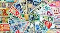 Tỷ giá các đồng tiền chủ chốt ngày 15/12/2017